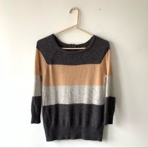 Fenn Wright Manson Angora Colorblock Sweater Med